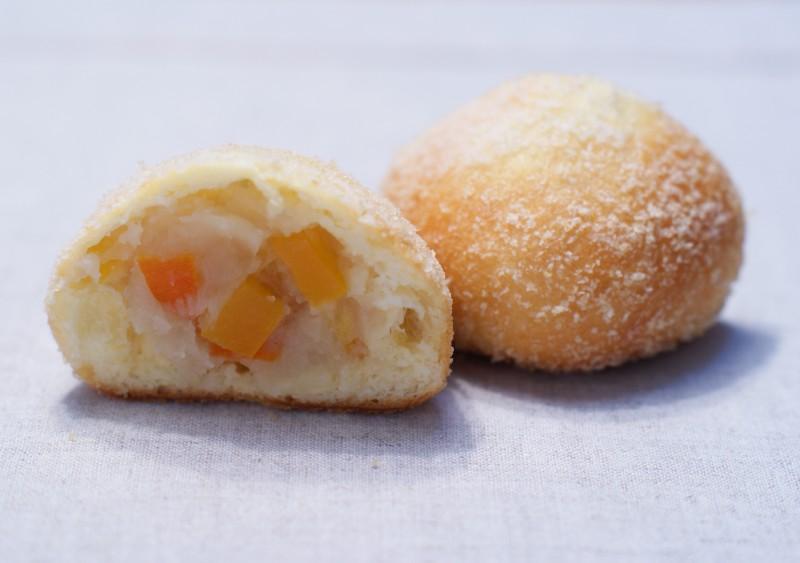 オレンジピールと白あん