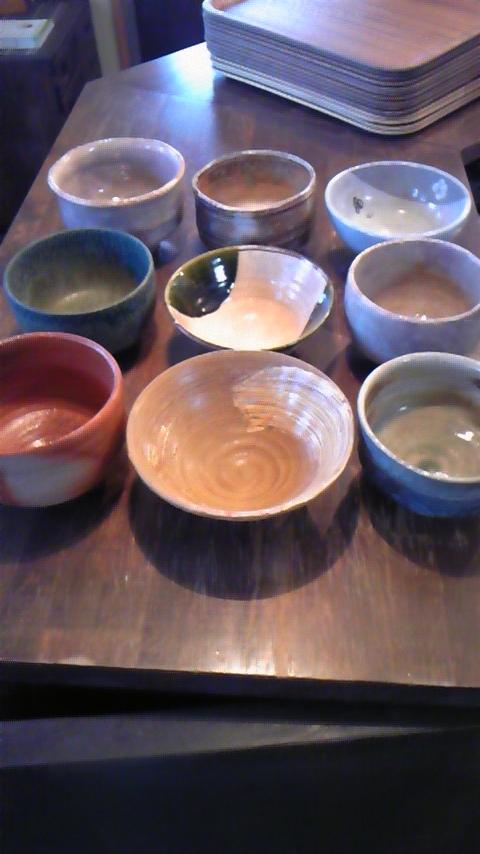 抹茶茶碗たち2